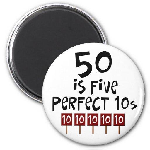 50 geburtstagsgeschenke 50 ist 5 perfekte 10s magnete. Black Bedroom Furniture Sets. Home Design Ideas
