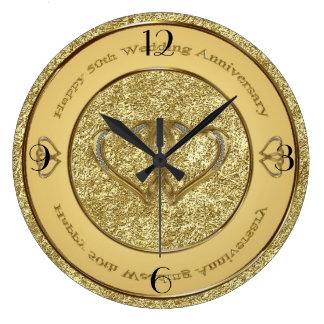 50. Hochzeitstag-Uhr Uhren