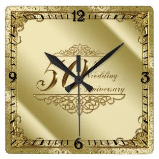 50. Hochzeitstag-Wanduhr Uhren