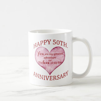 50. Jahrestag Tasse