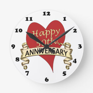 50. Jahrestag Uhr