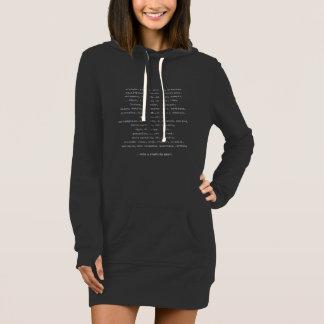 50 Staaten Roadtrip Sweatshirt-Kleid Kleid