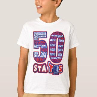 50 STATES USA T-Shirt
