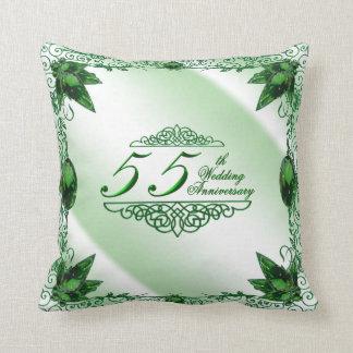 55. Hochzeitstag-Kissen Kissen