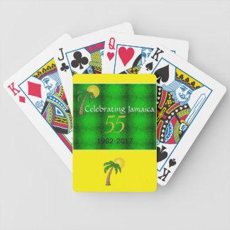 55. Unabhängigkeits-Spielkarten Jamaikas Bicycle Spielkarten