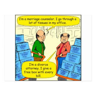 592 geben Gewebe mit jedem Rechnungs-Cartoon Postkarte