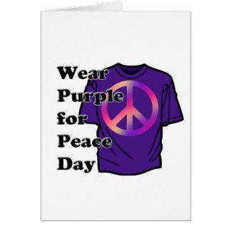 5-16 Abnutzung lila für Friedenstag Karte