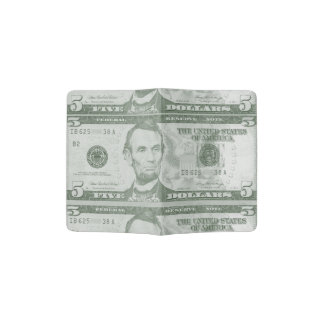 5 Dollarschein-Pass-Halter Passhülle