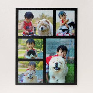 5 Foto-Riese kundengebundene Bild-Collage Puzzle