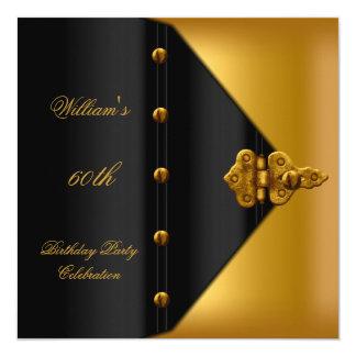60. Das schwarze Gold der Quadratische 13,3 Cm Einladungskarte