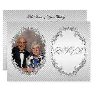 60. Hochzeits-Jahrestags-Foto UAWG Karte