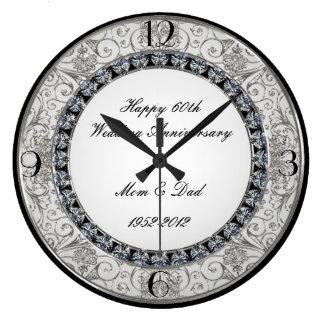 60. Hochzeitstag-Uhr Uhren