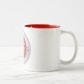 65. Jahrestags-Tasse Zweifarbige Tasse