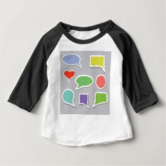 66Speech Bubbles_rasterized Baby T-shirt