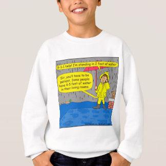 694 2 Fuß des Wasser-Cartoon Sweatshirt