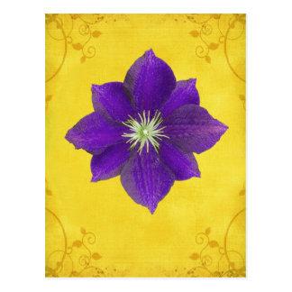 6. Chakra Geschenk - drittes Auge Postkarte