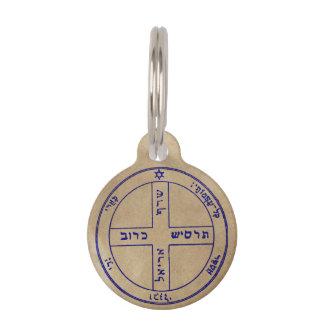 6. Pentagramm von Jupiter Tiermarken