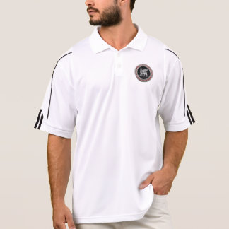 [700] Babylonian Winged Stier [Silber] [3D] Polo Shirt