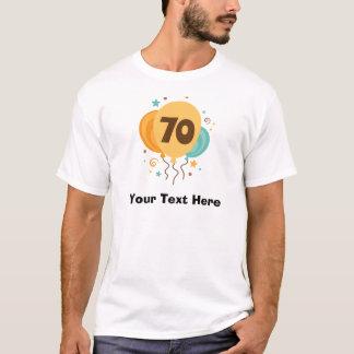 70. Geburtstags-Party-Geschenk-Idee T-Shirt