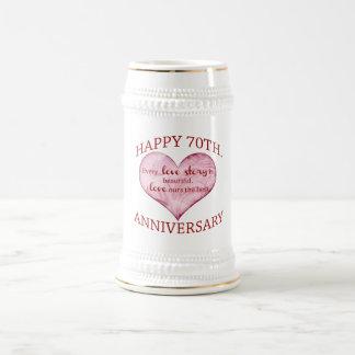 70. Jahrestag Bierkrug