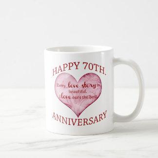 70. Jahrestag Tasse
