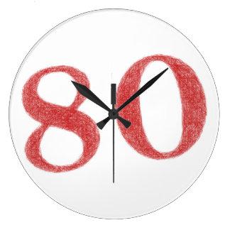 80 Jahre Jahrestag Uhren
