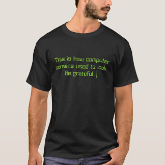80er Bildschirme T-Shirt