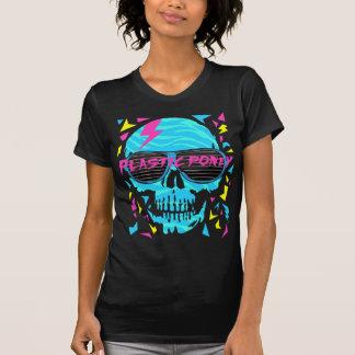 80er elektronischer Schädel T-shirts