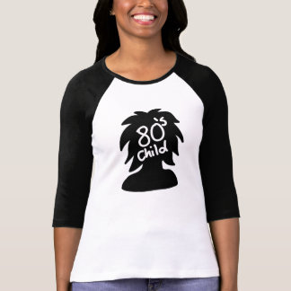 80er Kinderfrauen-T - Shirts