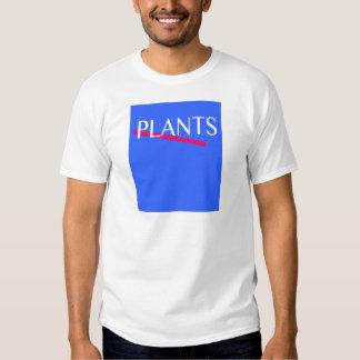 80er Pflanzen-T - Shirt
