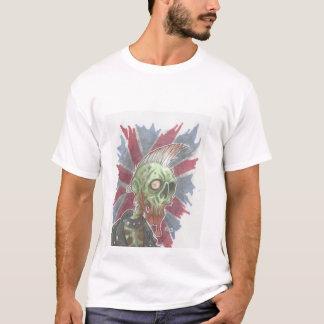 80er Punkfelsen-Zombie am Shirt