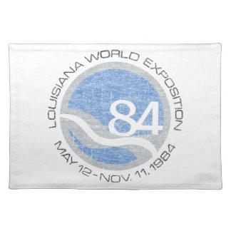 84 Weltmesse Stofftischset