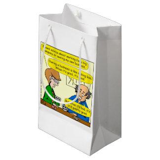 879 Ihren eigenen Geschäfts-Cartoon besitzen Kleine Geschenktüte