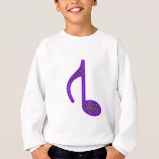 8. Aufgehobenes Anmerkung multi purpurartiges Sweatshirt