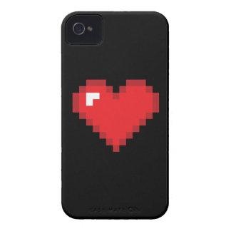 8 Bit-Herz Case-Mate iPhone 4 Hülle