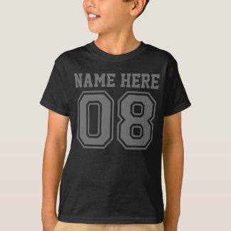 8. Geburtstag (der Name des kundengerechtes T-Shirt
