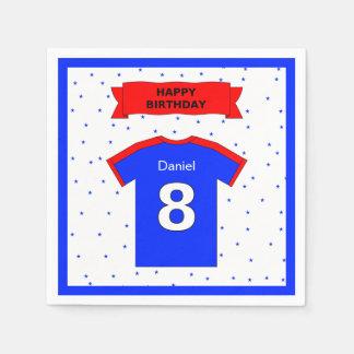 8. Geburtstag für Jungen und Mädchen addieren Serviette