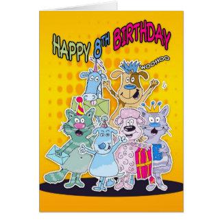 8. Geburtstags-Karte - Moonies Doodlematoons Karte