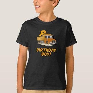 8. Geburtstags-Kipper-T-Shirt - Junge Bday T-Shirt