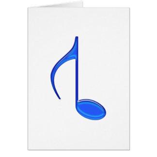 8. Musikalische Anmerkungs-aufgehobenes großes Karte