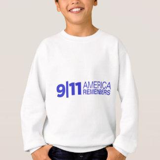 911 Amerika erinnert sich Sweatshirt