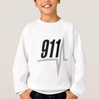 911 EKG Streifen Sweatshirt