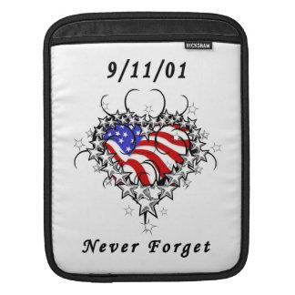 911 vergessen Sie nie iPad Sleeve