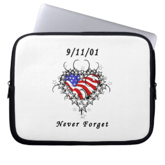 911 vergessen Sie nie Laptop Sleeve