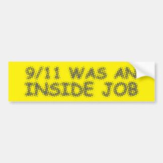 911 waren ein Insider-Job, Blase Autoaufkleber