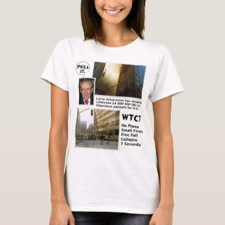 911 Zug der Wahrheits-WTC7 es T-Shirt