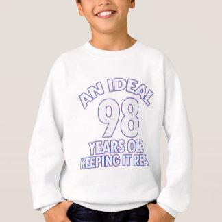 98. Geburtstagsentwürfe Sweatshirt