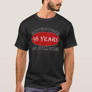 98 Jahre alte Geburtstagsentwürfe T-Shirt
