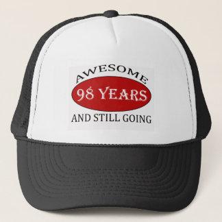 98 Jahre alte Geburtstagsentwürfe Truckerkappe