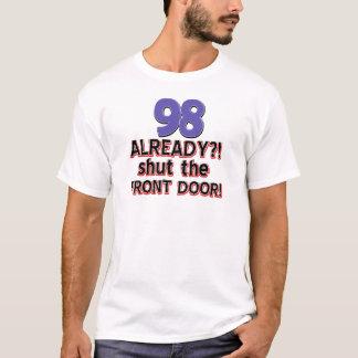 98. jährige Geburtstagsentwürfe T-Shirt